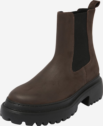 ABOUT YOU Chelsea Boots 'Melinda' in Braun