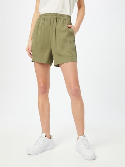 OBJECT Shorts 'Tilda' in khaki, Modelansicht