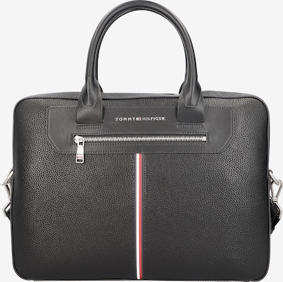 TOMMY HILFIGER Document bag 'Downtown' in Fire red / Black / White, Item view