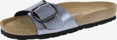 ROHDE Pantolette in taubenblau, Produktansicht