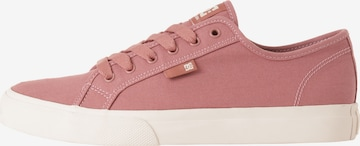 DC Shoes Athletic Shoes 'Manual' in Pink
