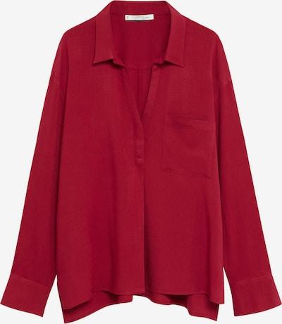 VIOLETA by Mango Bluse in rot, Produktansicht