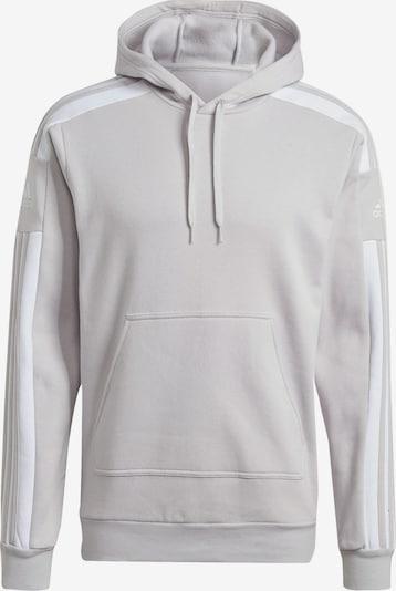 ADIDAS PERFORMANCE Sportsweatshirt in hellgrau / weiß, Produktansicht