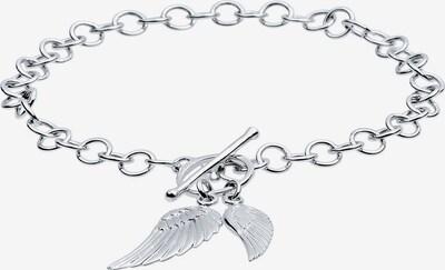 ELLI Armband Bettelarmband, Flügel, Multipendants, T-Bar in silber, Produktansicht