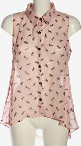 Oh my Love ärmellose Bluse in M in Pink