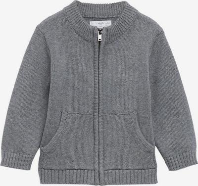 MANGO KIDS Gebreid vest 'Lukeb' in de kleur Grijs gemêleerd, Productweergave