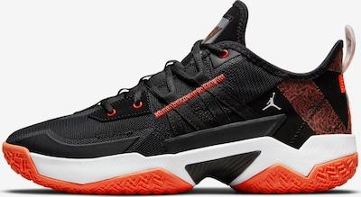 Jordan Sportschuh 'One Take II' in orange / schwarz / weiß, Produktansicht