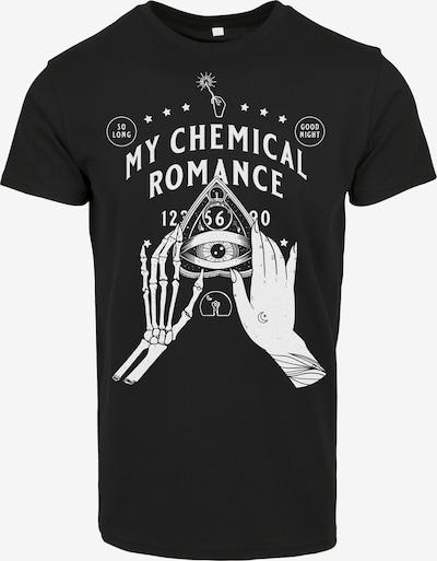 Mister Tee T-Shirt 'My Chemical Romance Pyramid' en noir / blanc: Vue de face