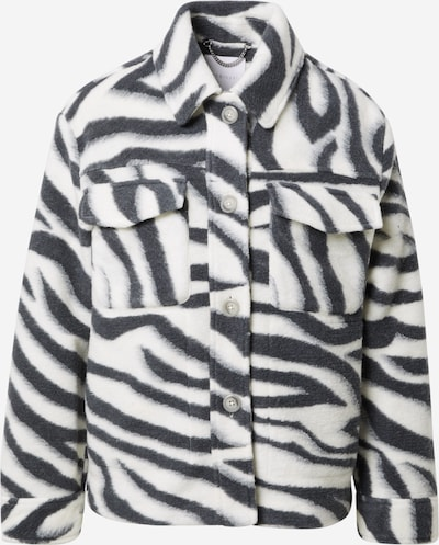 Rich & Royal Jacke in dunkelgrau / weiß, Produktansicht