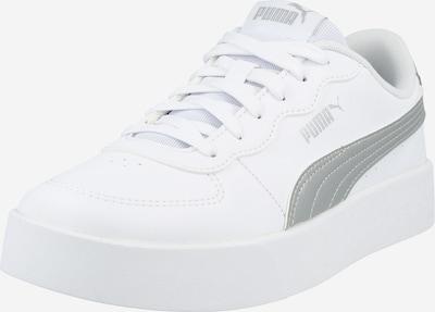 PUMA Baskets basses 'Skye Clean' en argent / blanc, Vue avec produit