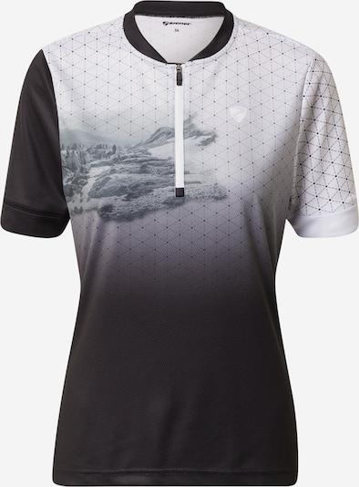 ZIENER Camiseta funcional 'NADINKA' en negro, Vista del producto