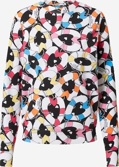 Love Moschino Sweatshirt in mischfarben / schwarz, Produktansicht