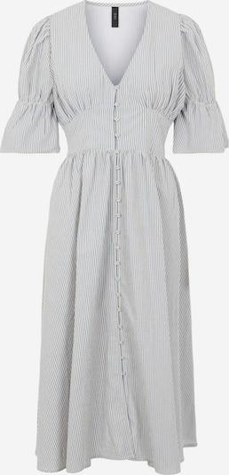 Y.A.S Dress 'CAMA' in Smoke blue / White, Item view