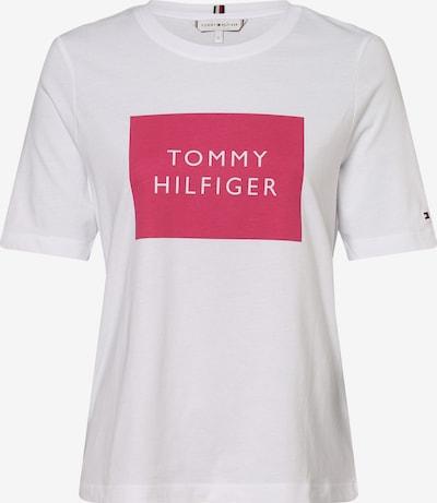TOMMY HILFIGER Тениска в розово / бяло, Преглед на продукта