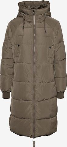Vero Moda Petite Mantel 'Aura' in Grau