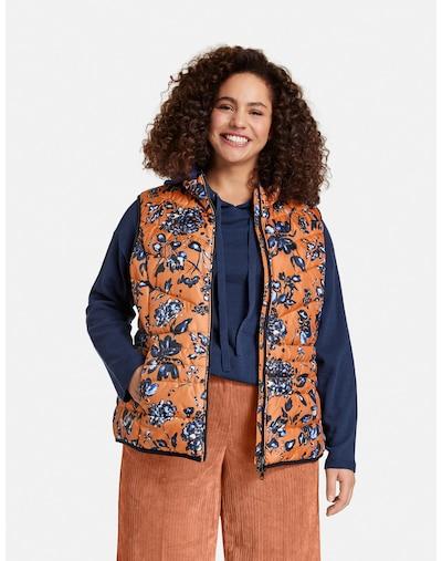 SAMOON Vest in Orange, View model