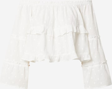 ABOUT YOU Blouse 'Clara' in White