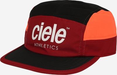 CIELE ATHLETICS Cap 'Red Rocks' in Orange / Bordeaux / Black / White, Item view