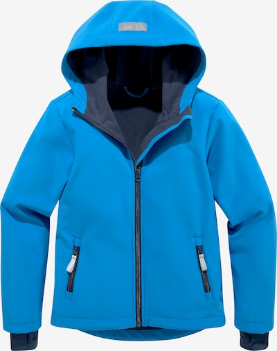 Kidsworld Outdoorjacke in blau, Produktansicht