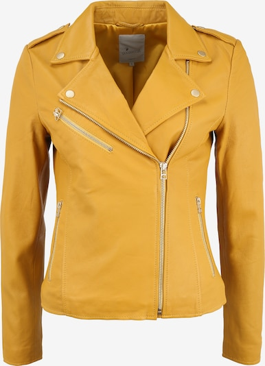 Goosecraft Lederjacke 'JULIA' in gelb, Produktansicht