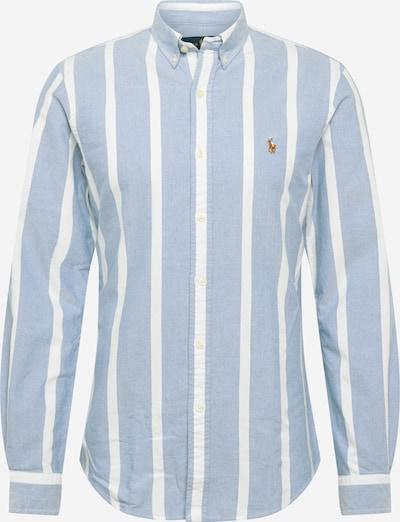 POLO RALPH LAUREN Overhemd in de kleur Opaal / Wit: Vooraanzicht