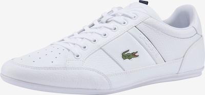 LACOSTE Baskets basses 'Chaymon' en vert / rouge / noir / blanc, Vue avec produit