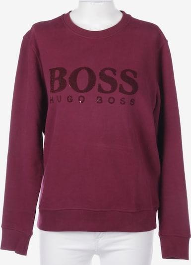 HUGO BOSS Sweatshirt / Sweatjacke in XL in bordeaux, Produktansicht