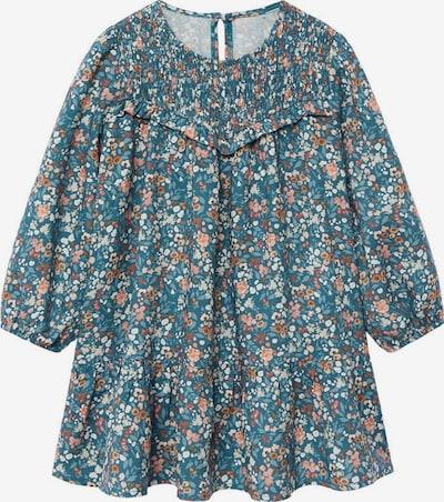 MANGO KIDS Kleid 'alina' in hellblau / orange / rosa, Produktansicht