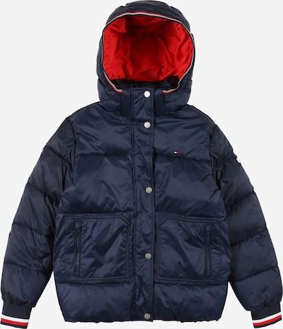 TOMMY HILFIGER Veste d'hiver en bleu marine / rouge / blanc, Vue avec produit