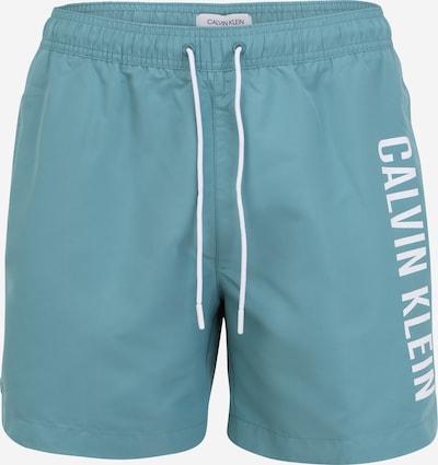 Calvin Klein Swimwear Swimming shorts 'Intense Power' in Smoke blue / White, Item view