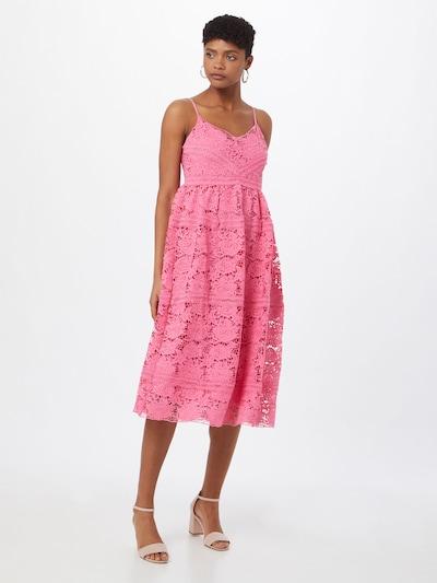 Y.A.S Robe de cocktail 'FRIO' en rose, Vue avec modèle