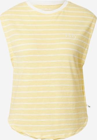 ROXY Topp 'GOOD EYES', värv kollane
