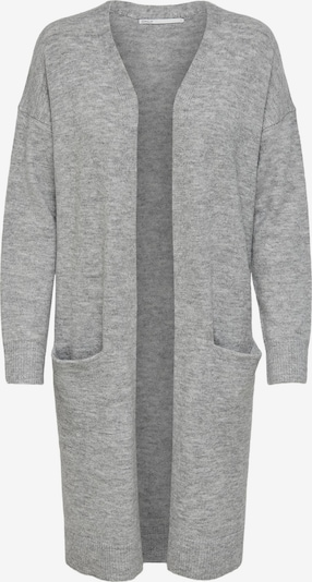 ONLY Knit Cardigan 'Silja' in mottled grey: Frontal view