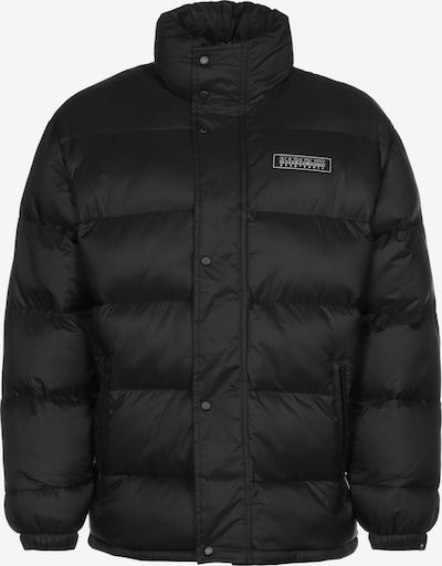 NAPAPIJRI Winterjas ' A-Tammikuu ' in de kleur Zwart / Wit, Productweergave