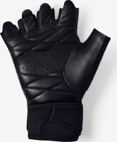 UNDER ARMOUR Handschuhe in schwarz / weiß, Produktansicht