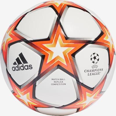 ADIDAS PERFORMANCE Ball in orange / schwarz / weiß, Produktansicht