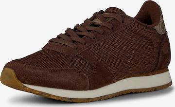WODEN Sneakers ' Ydun Suede Mesh II ' in Brown