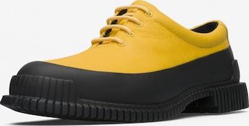 CAMPER Schnürschuh ' Pix ' in Yellow