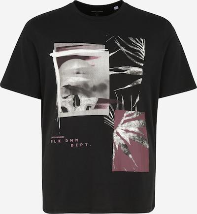 Jack & Jones Plus T-Krekls, krāsa - ogu / melns / balts, Preces skats