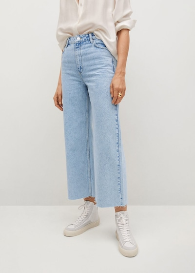 MANGO Jeans 'Carol' in blue denim, Modelansicht