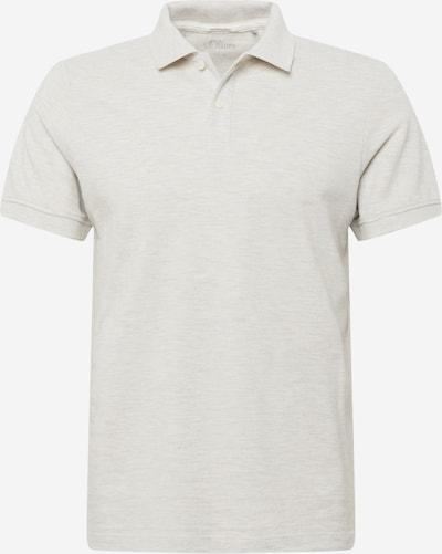 Tricou s.Oliver pe alb murdar, Vizualizare produs