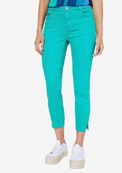 COMMA Jeans in türkis, Modelansicht