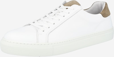Sneaker low 'AJAY' Bianco pe bej / alb, Vizualizare produs