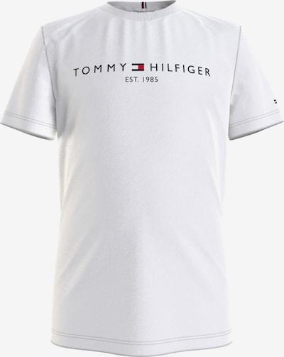 TOMMY HILFIGER T-Shirt in navy / feuerrot / weiß, Produktansicht