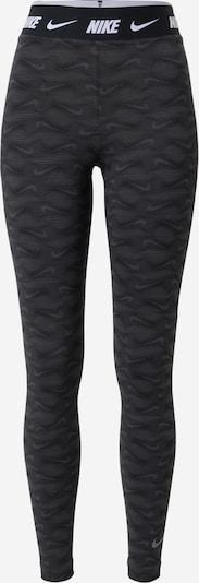 Nike Sportswear Tajice u siva / tamo siva / bijela, Pregled proizvoda