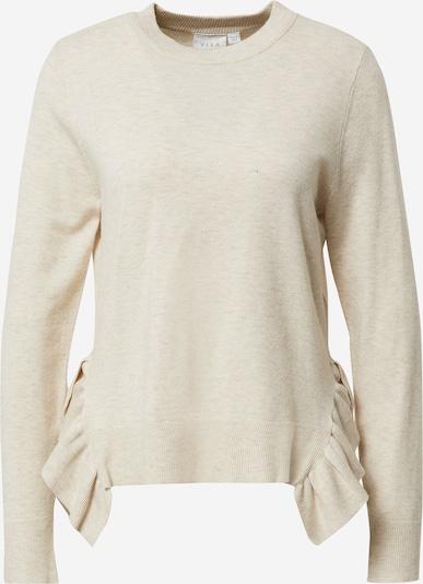 VILA Pullover 'ELASTA' in beige, Produktansicht