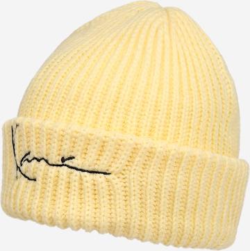Karl Kani Müts 'Signature Fisherman', värv kollane