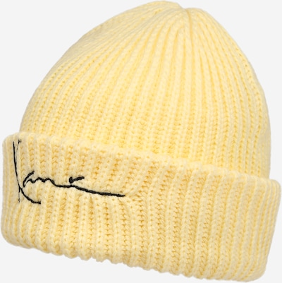 Karl Kani Mütze 'Signature Fisherman' in gelb / schwarz, Produktansicht