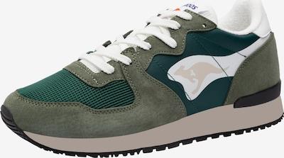 Sneaker low 'Aussie' KangaROOS pe verde / kaki / alb, Vizualizare produs