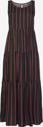 LAURA SCOTT Sommerkleid in rot / schwarz / weiß, Produktansicht